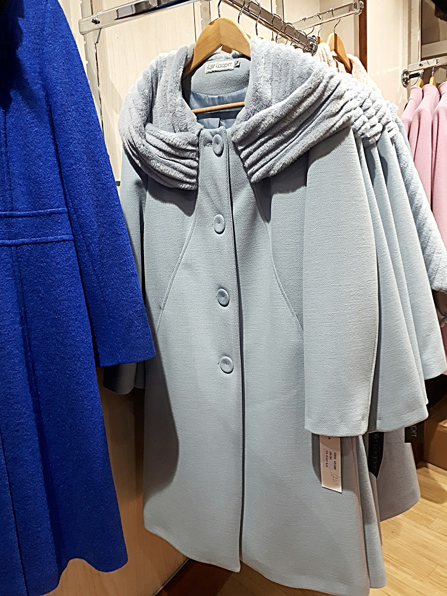 The Winsome Lady, Sale, Kate Cooper, Blue coat, The Style Guide Blog, NI