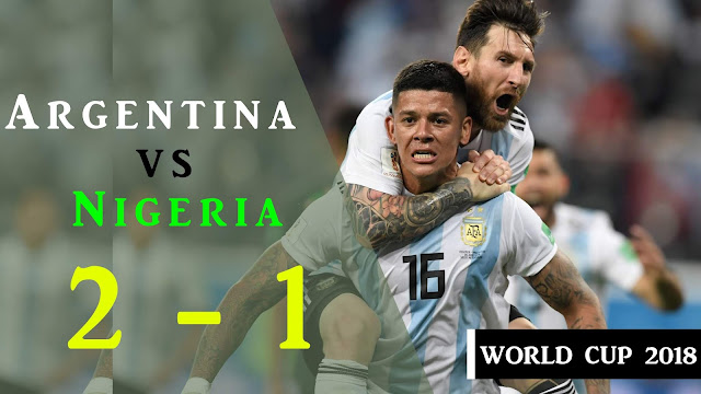 ARGENTINA VS NIGERIA 2-1 All goals & Highlights 2018 | World Cup match 39