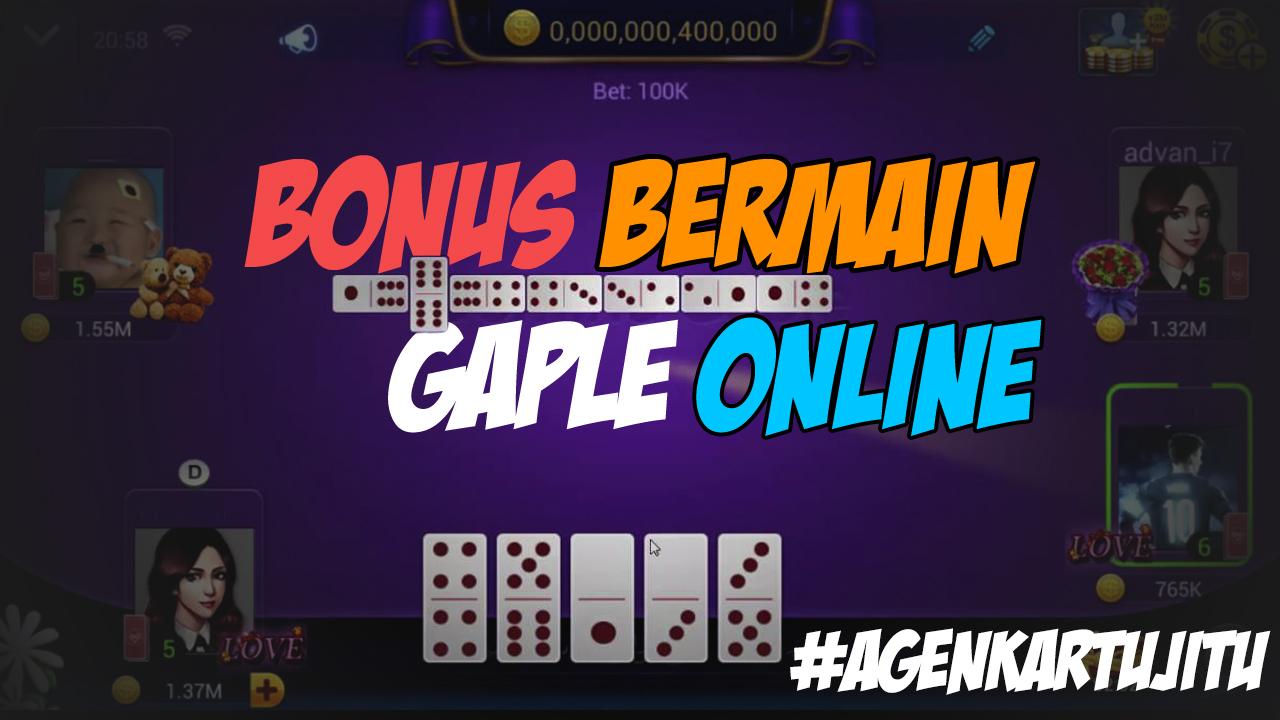 Bonus Domino Gaple Online untuk android Bulan Juni 2019 ...