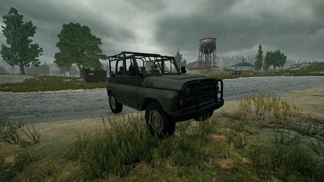 PUBG UAZ (Jeep)