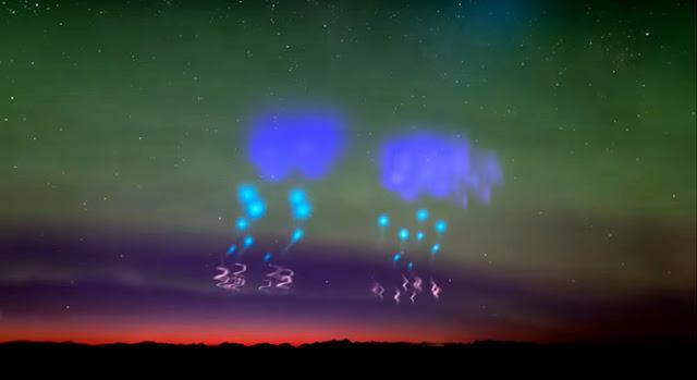 luzes estranhas na Noruega - Michael Theusner