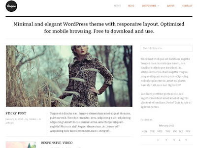 WP THEME#16: ORIGIN