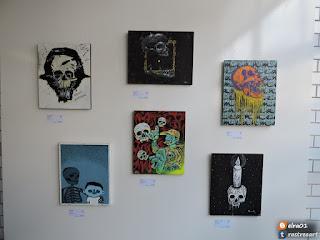 imagenes de la exposición pictórica Style Graff y Priority Mail CDMX.