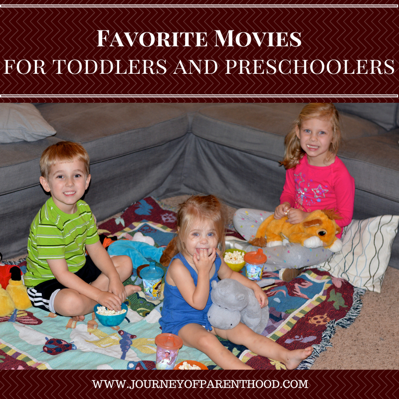 best movies for toddlers and preschoolers