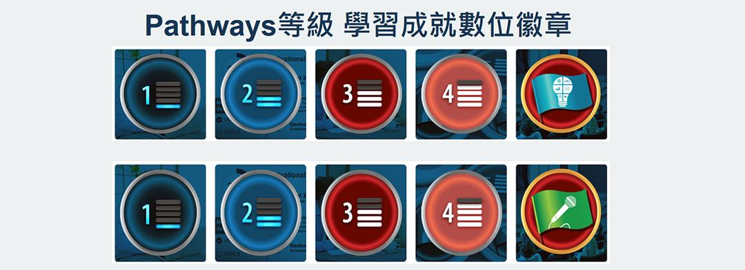 Pathways新制完成(5等級)的數位徽章