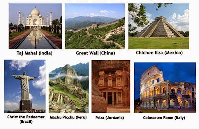 7 Keajaiban Dunia (New 7 Wonders)
