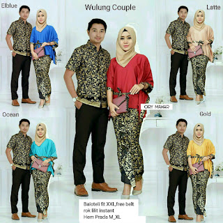 Batik Wulung Batwing