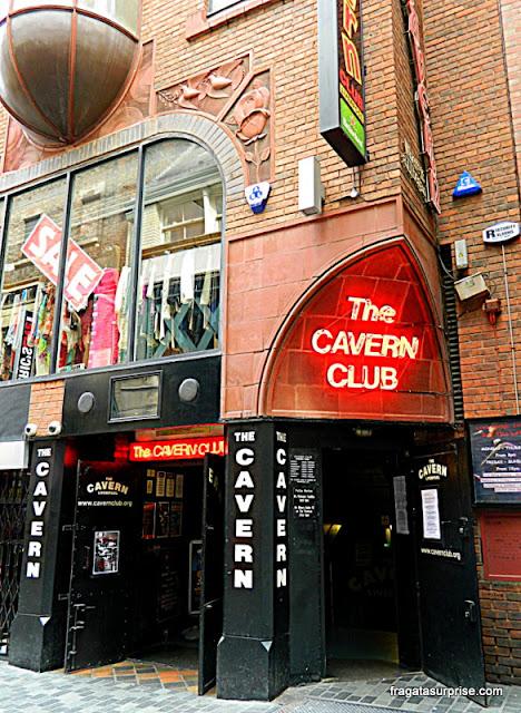 Fachada do Cavern Club, Liverpool, Inglaterra