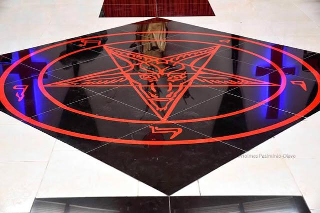 tempat penyembahan lucifer
