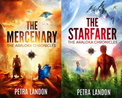 The Araloka Chronicles by Petra Landon on Amazon