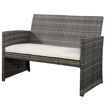 Luxury Furniture Goplus 4 Pc Rattan Patio