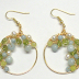 Spring Garlands Wire Wrapped Earrings Tutorial