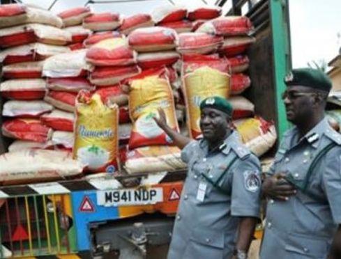 Customs seize smuggled Rice, Vegetable Oil worth N17m