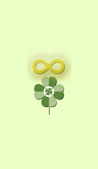 Fun luck and healthy luck infiniteClover