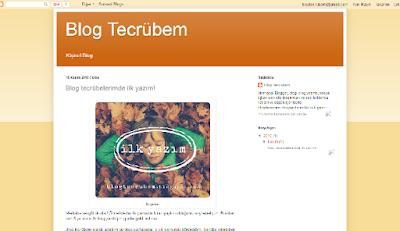 hazır blogger teması