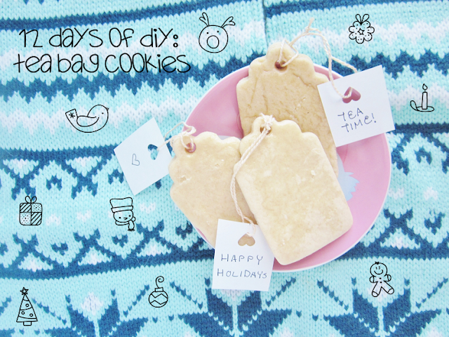 Tea Bag Sugar Cookies DIY