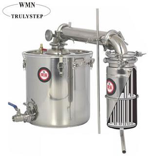 Alat Destilasi Uap Minyak Minyak Atsiri 3
