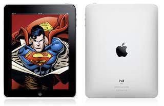 iPad superman