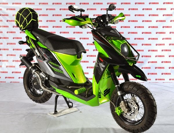 Yamaha X Ride Modifikasi Adventure terpopuler
