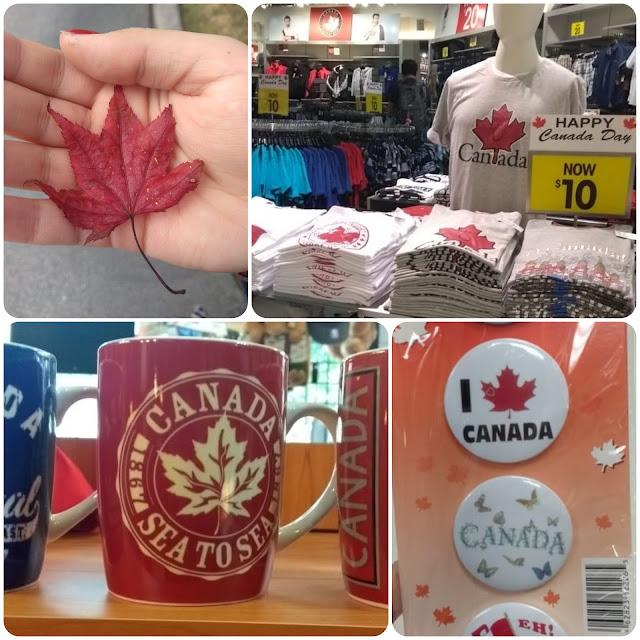 Folha estilizada da árvore símbolo do Canadá