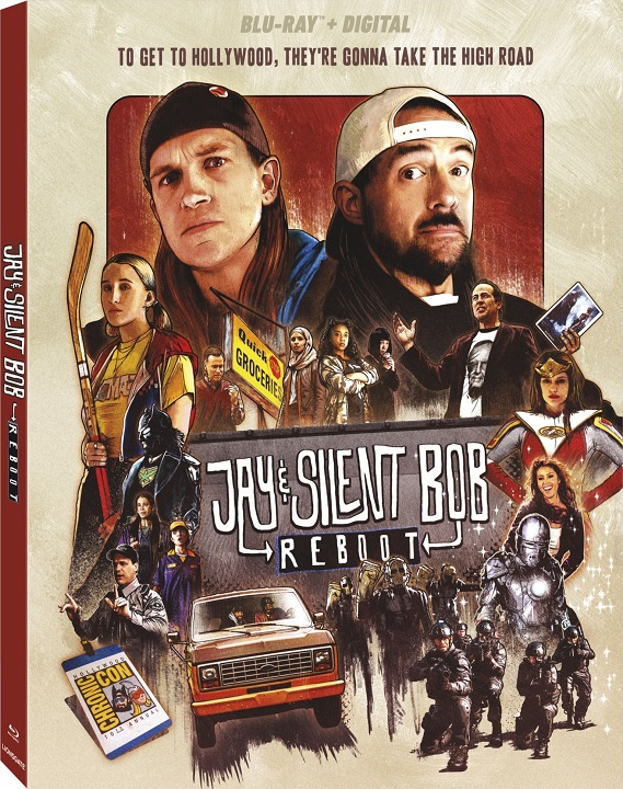 Jay and Silent Bob Reboot arrives on Blu-ray™, DVD, Digital, and On Demand January 21 (Lionsgate)