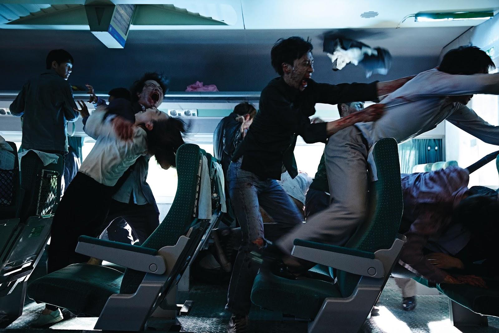 """terror, cine, zombies, """"Busanhaeng"""" (Estación Zombie en español),"""
