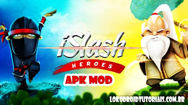GAME Islash Heroes APK MOD (Dinheiro Poderes infinito)