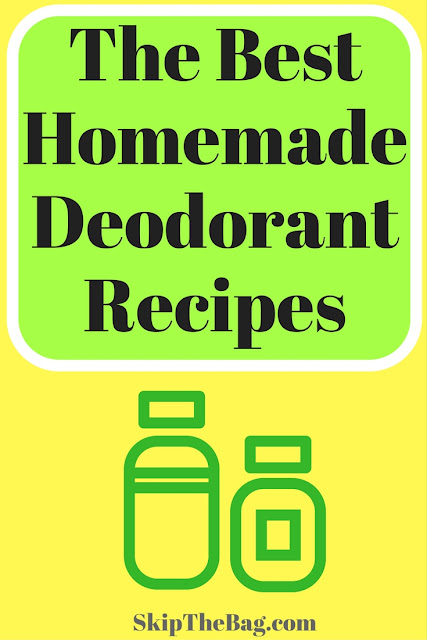 The Ultimate Homemade DIY Deodorant List. A collection of deodorant and antiperspirants from green and environmentally friendly bloggers. Made with natural ingredients.