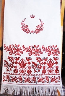 Моя вишиванка  Правила вишивання весільного рушника b01041ad0caae