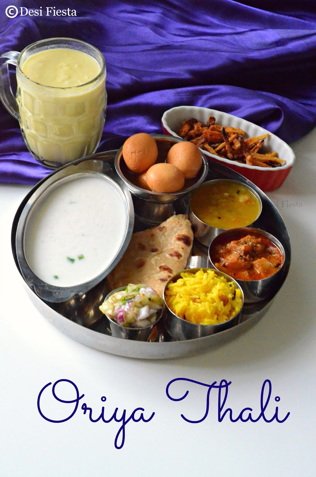 Oriya thali orissa cuisine desi fiesta orissa cuisine forumfinder Image collections