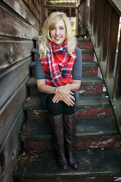 Fall Blanket Scarfs