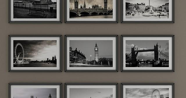 Черно белые картины Лондон (black and white pictures of ...