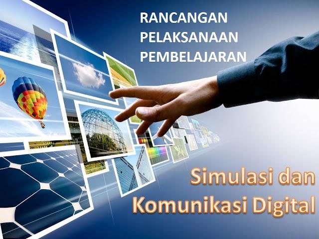 Contoh Rancangan Pelaksanaan Pembelajaran (RPP) Simulasi dan Komunikasi Digital SMK Kelas X