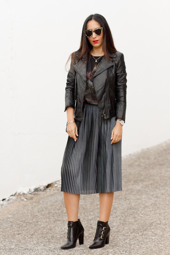 BLoguera de moda y belleza valenciana con look femenino bonito y moderno