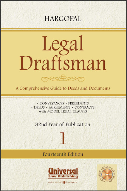 Legal Draftsman A Comprehensive Guide to Deeds and Documents (Set of 2 Volumes)