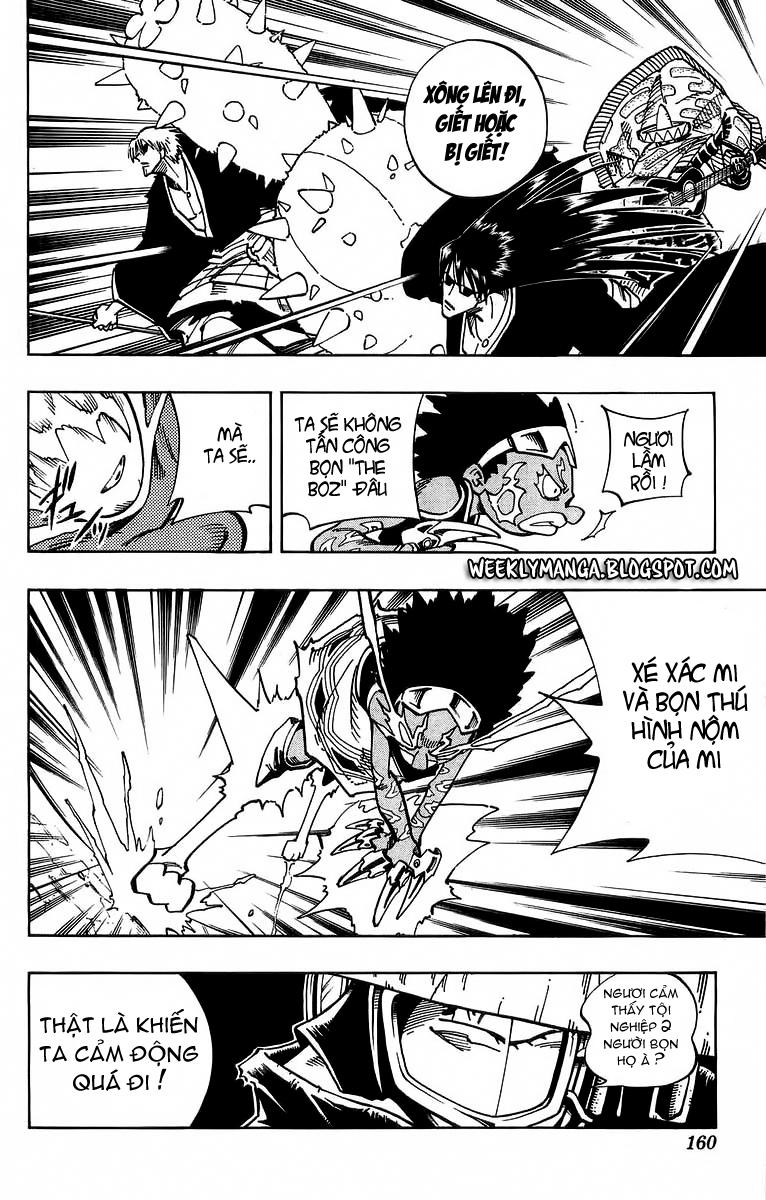 Shaman King [Vua pháp thuật] chap 115 trang 14