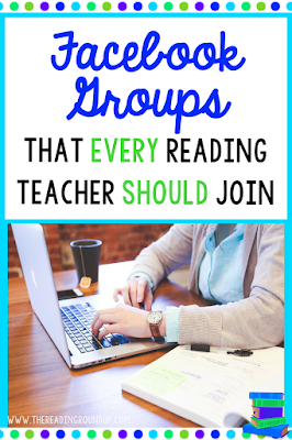 Facebook Groups are an incredible opportunity for educators to connect and collaborate with teachers across the world. Check out these Facebook Groups that you should join in order to enhance your literacy instruction!