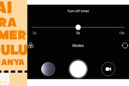 Cara Mengatur Self Timer Kamera HP Xiaomi