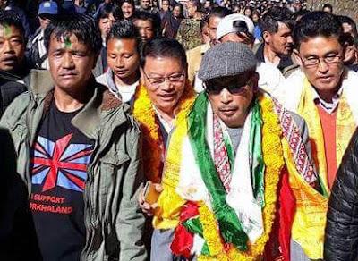 GNLF Leader Kishor Gurung