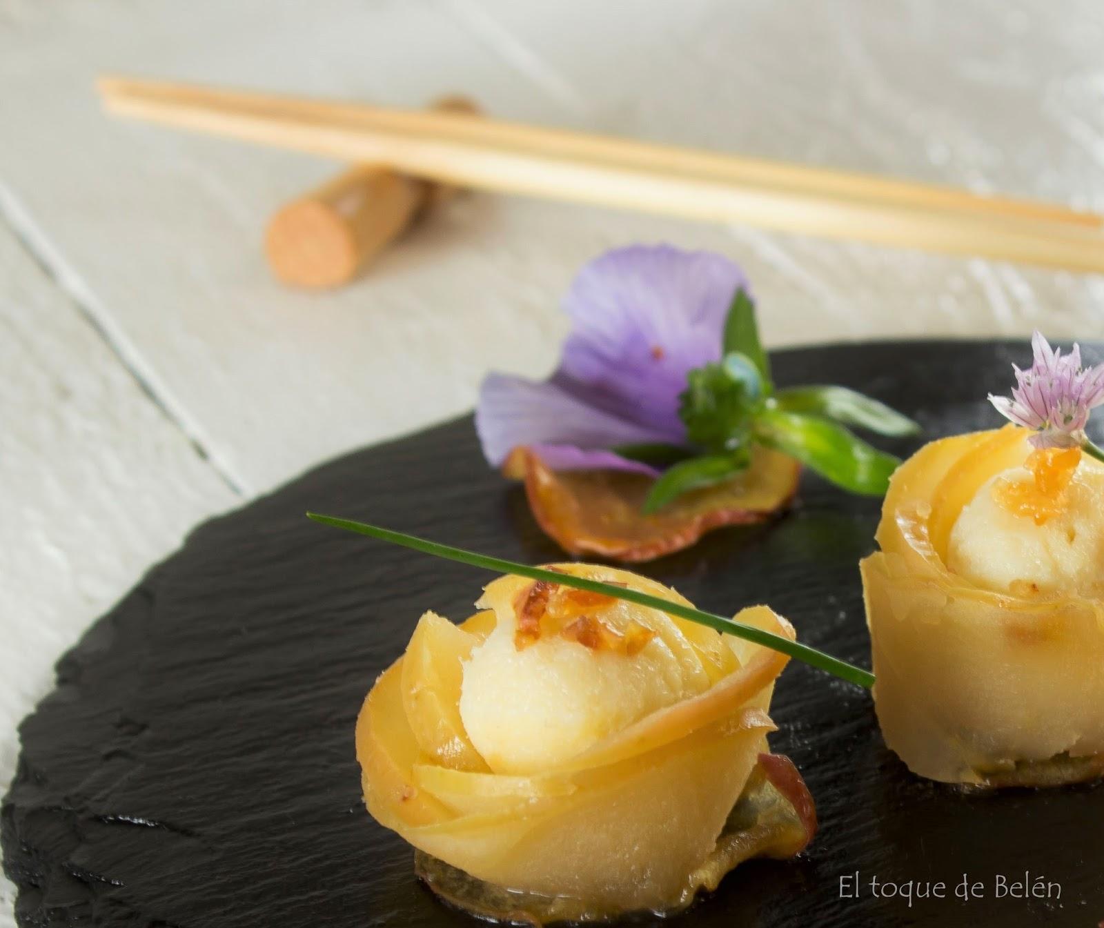 sushi de manzanas asturianas y capricho de bacalao el. Black Bedroom Furniture Sets. Home Design Ideas