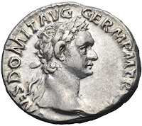 Domitian coin image