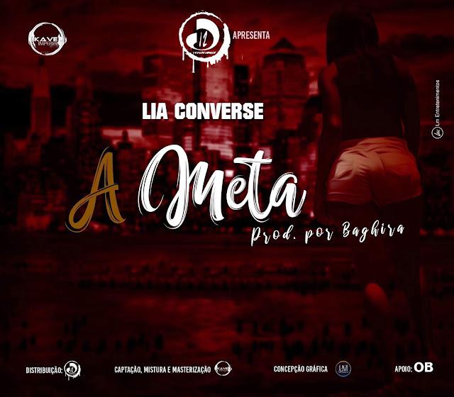 "A rapper angolana Lia Converse lança o single ""A meta"""