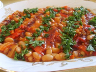 Kidney Bean with Olive Oil (Kurufasulye Pilaki)