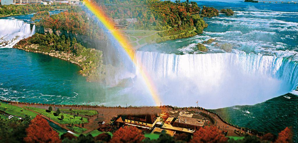 Niagara Falls (air terjun Niagara) adalah air terjun di sungai Niagara
