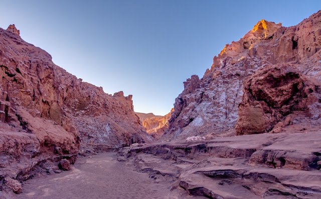 Valle de la Muerte no inverno
