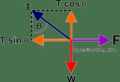konsep Hukum Newton pada Kesetimbangan Tali
