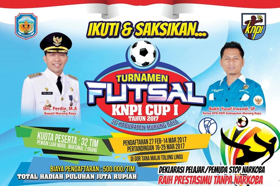 Bangkitnya Pemuda Murung Raya! Akan Deklarasi Stop Narkoba dan Adakan Turnamen Futsal Cup 1