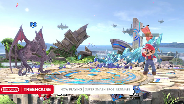 Super Smash Bros. Ultimate  Ridley cramped proportions in-game character model