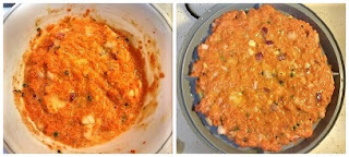 Process to make Savory Cassava- Carrot Waffles or Tortillas (Paleo, Gluten-free, Grain-free, Whole30, Dairy-free, Vegan).jpg 2