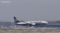 Boeing 737-8AS(WL) nr EI-EKL, Ryanair, Krakow Airport